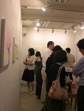林幸子個展「ふうけい展」に行ってきました。_d0069649_20474792.jpg