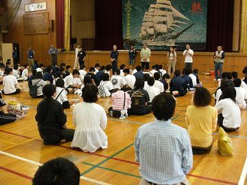 第141回は、5月9日、貝塚市立第4中学校様でした。_e0180838_16395365.jpg