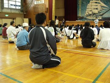 第141回は、5月9日、貝塚市立第4中学校様でした。_e0180838_164782.jpg