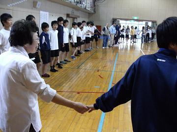 第141回は、5月9日、貝塚市立第4中学校様でした。_e0180838_17222494.jpg