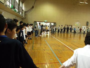 第141回は、5月9日、貝塚市立第4中学校様でした。_e0180838_1723675.jpg