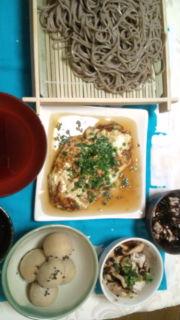 お蕎麦を茹でましたぁ〜_e0114246_162342100.jpg