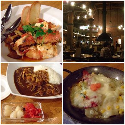 夕食は「函館ビヤホール」