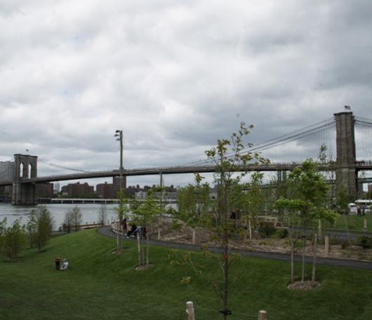 イーストリバー沿いに新しい公園がオープン! Brooklyn Bridge Park Pier1_b0007805_21285349.jpg