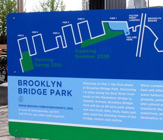イーストリバー沿いに新しい公園がオープン! Brooklyn Bridge Park Pier1_b0007805_2131457.jpg