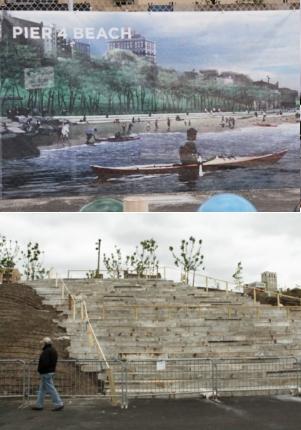 イーストリバー沿いに新しい公園がオープン! Brooklyn Bridge Park Pier1_b0007805_21593464.jpg