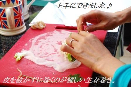 スモークサーモンのピリ辛ごまたっぷり刺身風丼 & お教室中継_d0104926_4214152.jpg