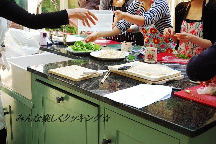 スモークサーモンのピリ辛ごまたっぷり刺身風丼 & お教室中継_d0104926_4223525.jpg