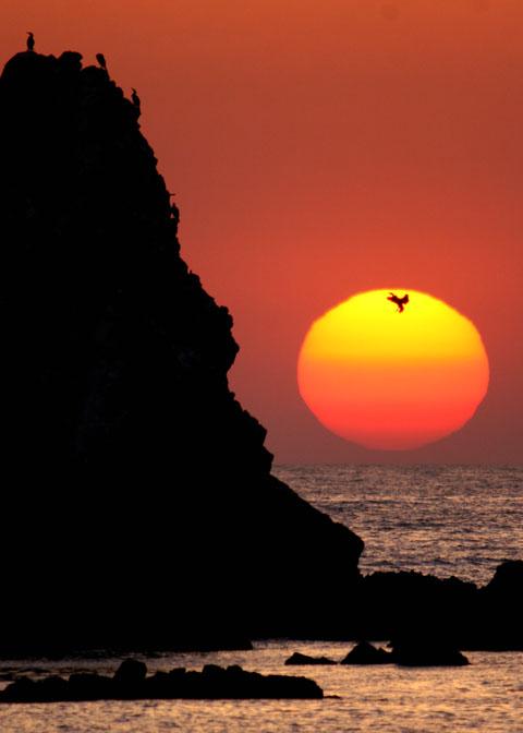 壁島の夕陽_d0074828_21335862.jpg