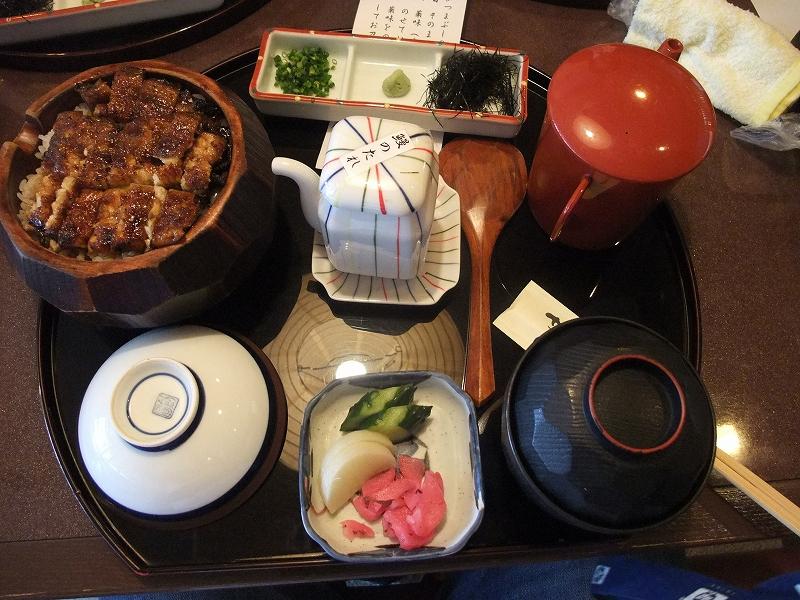 名古屋のお昼はひつまぶし_f0050534_14214390.jpg