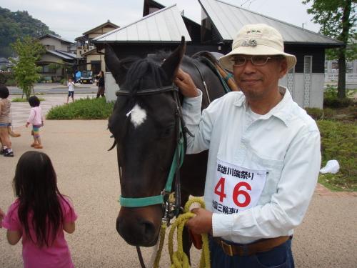馬と友人_a0077071_16591528.jpg