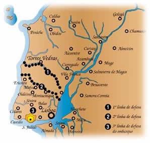 威靈頓的葡萄牙托裏什韋德拉什防線(Lines of Torres Vedras)_e0040579_11165586.jpg