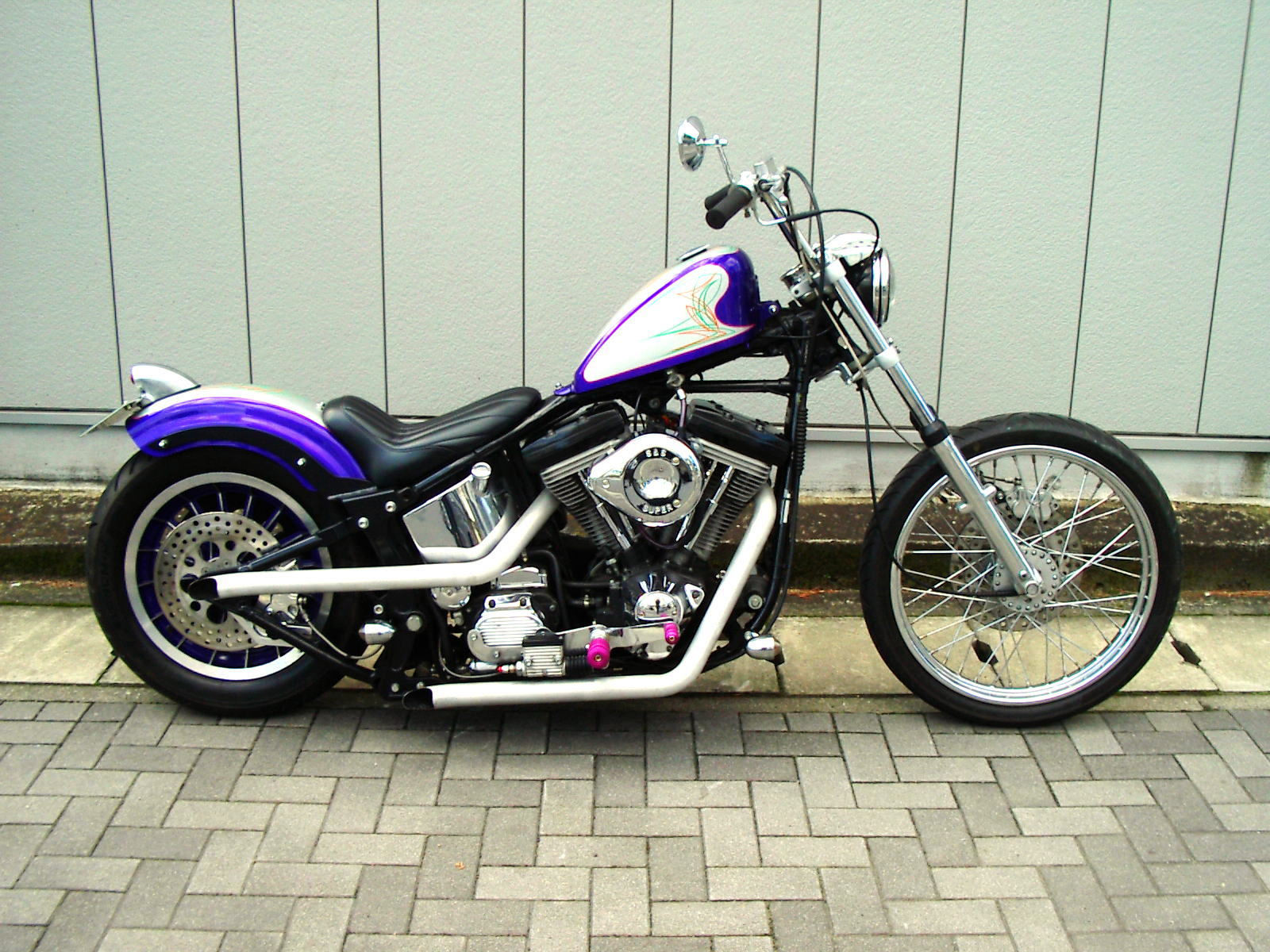 Purple Softail_b0160319_0304912.jpg