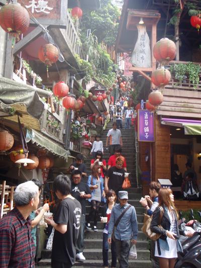 渋谷スペイン坂、九份の階段界隈_e0192242_1156459.jpg