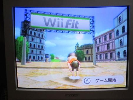 Wii Sports・・・再開しました・・・やらねば_f0051464_12405483.jpg