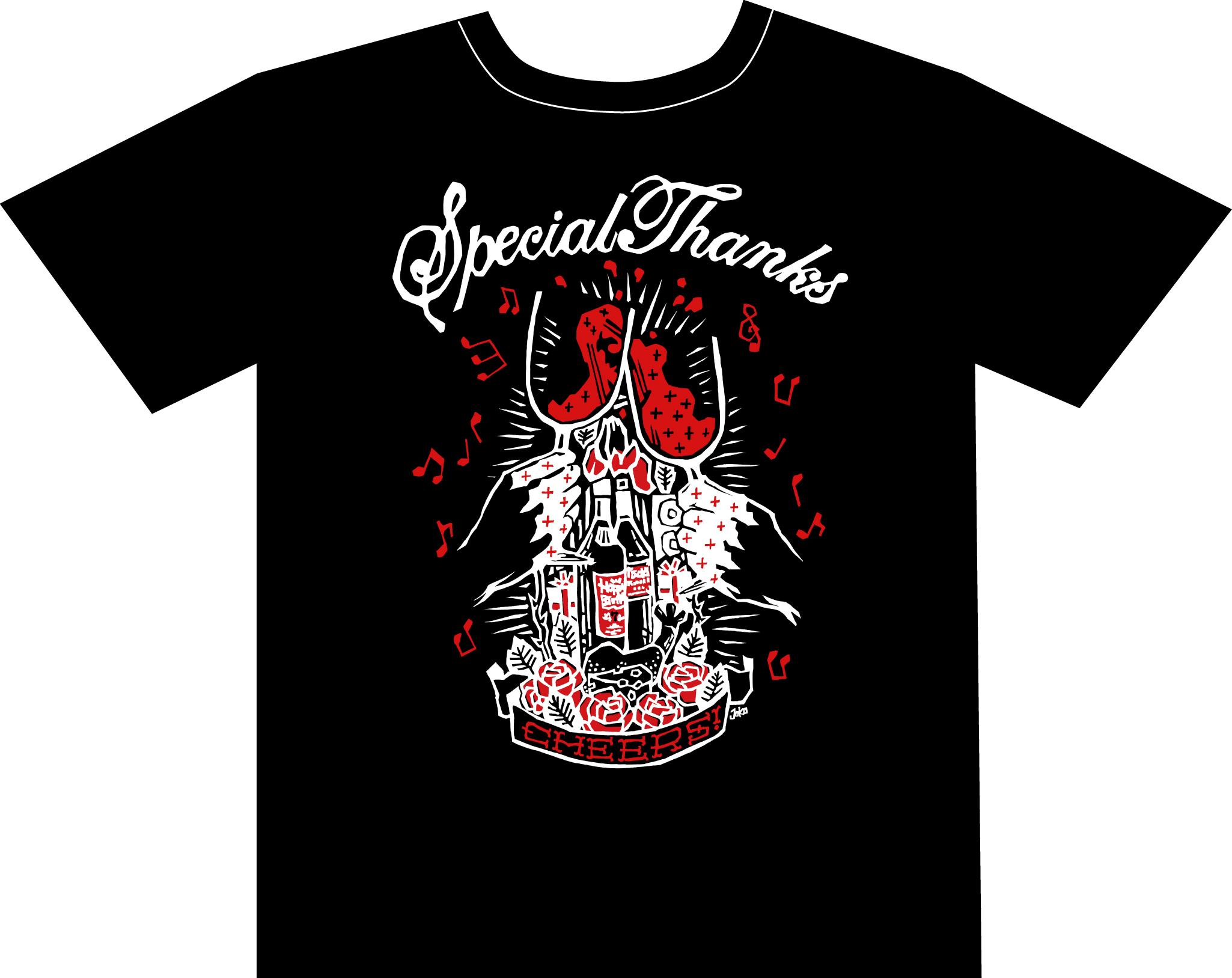 SpecialThanksのNEW Tシャツ予約受付開始!【KOGA RECORDS】_b0154973_20313516.jpg
