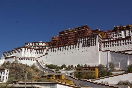 チベットの旅  Day  5 ラサ最終日はポタラ宮へ_e0114020_5323858.jpg