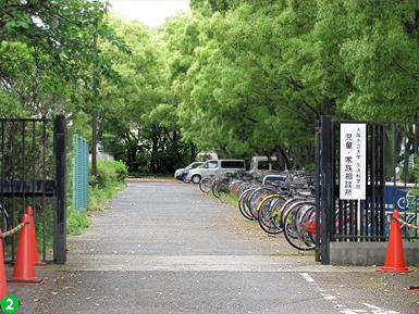 JR杉本町駅ー東口設置後の学内通学路_c0167961_12355893.jpg