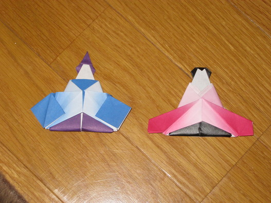 淳「本格折り紙」これも折り紙 ... : 雛人形 折り紙 難しい : 折り紙