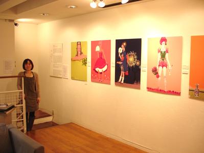 米澤よう子さんの展示_f0172313_23574463.jpg