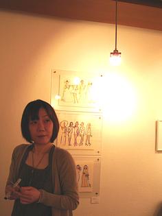 米澤よう子さんの展示_f0172313_2358227.jpg