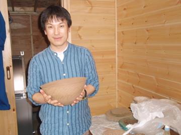 越智伸明さんの工房とギャラリー_b0132442_16352780.jpg