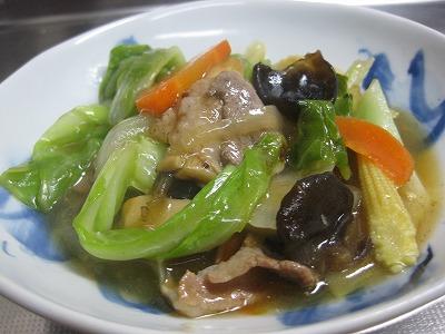 野菜と豚肉炒めたん♪_f0116812_9232283.jpg