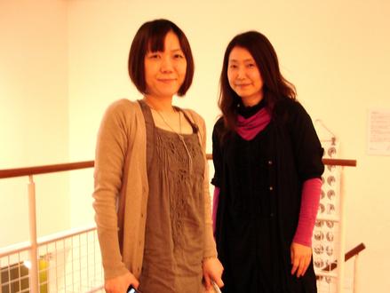米澤よう子さんの展示_f0172313_005849.jpg