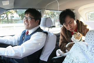 映画『ねこタクシー』6月12日(土)より、シネマスクエアとうきゅう他、全国運転開始!_e0025035_1243880.jpg