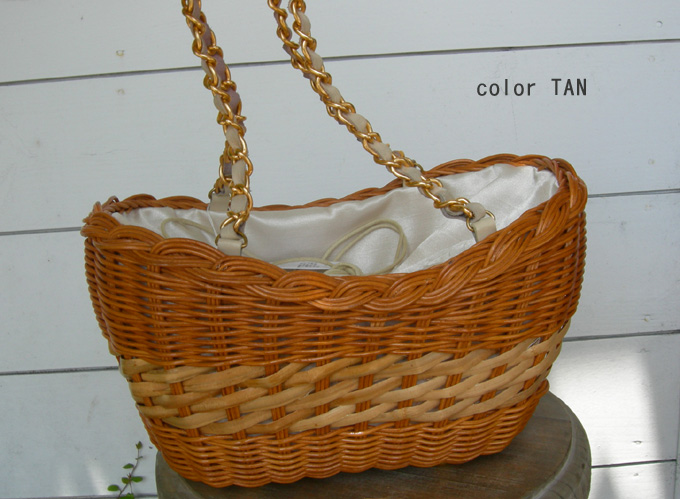 Cachellie RATTAN LEATHER トート_a0130646_14463077.jpg