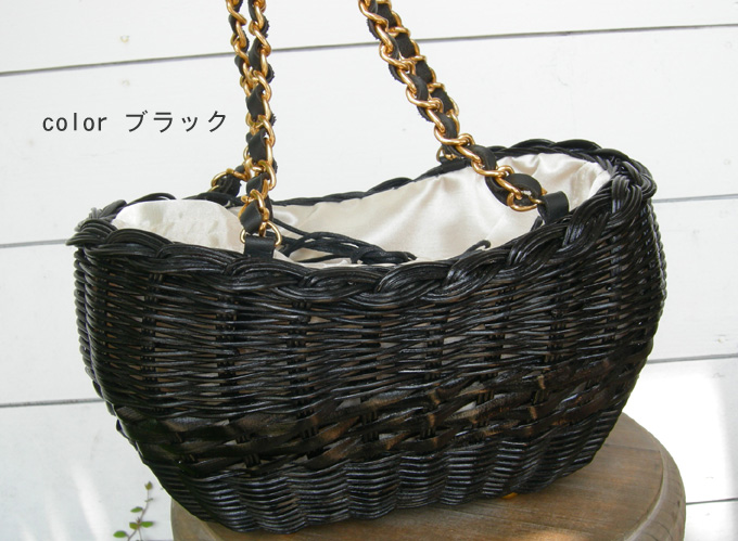 Cachellie RATTAN LEATHER トート_a0130646_14464747.jpg