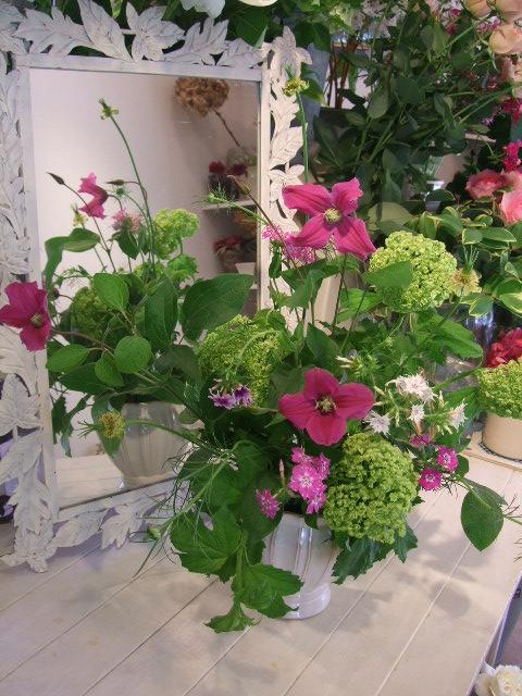 オークリーフ花の教室(石井さんの作品)_f0049672_18244423.jpg