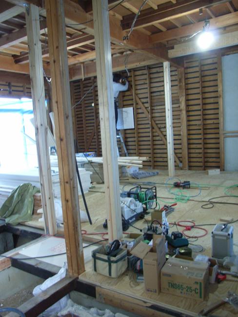 T邸改修工事の現場確認_b0186200_21571048.jpg