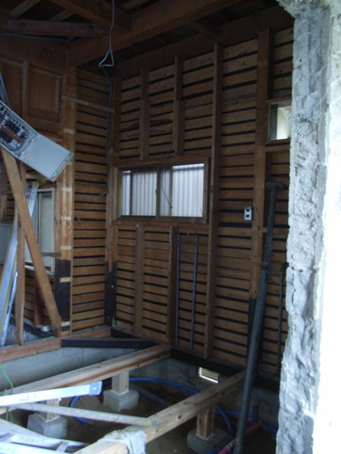 T邸改修工事の現場確認_b0186200_21572450.jpg