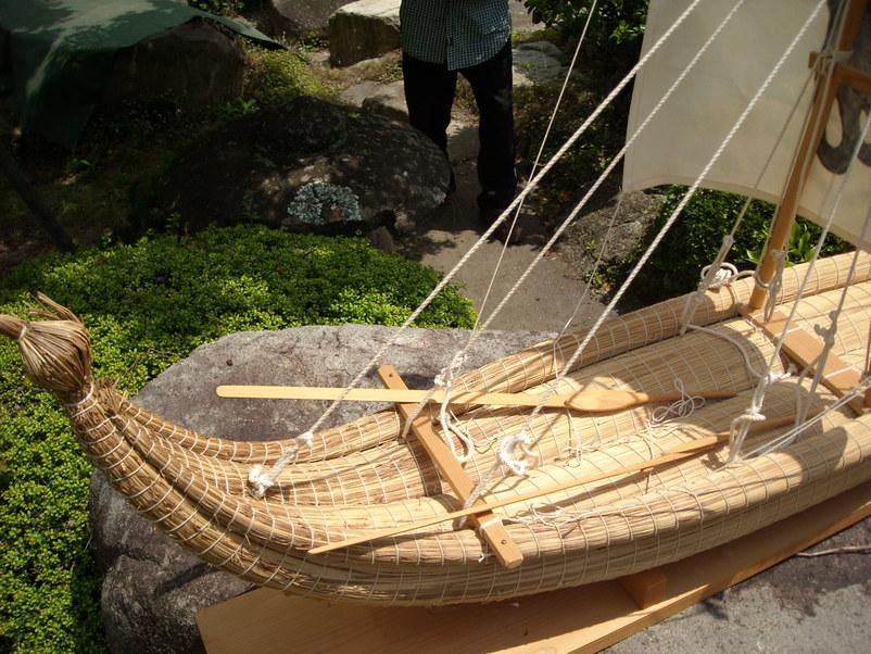 葦舟みたま号、海の博物館へ_b0076008_11161133.jpg
