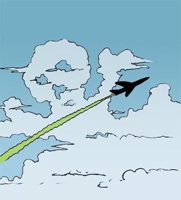 綾瀬はるかの「飛行機雲」は「ケムトレイル」だった!?_e0171614_2174345.jpg