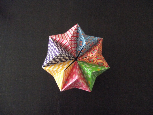 作り方 の 折り紙 万華鏡 折り紙 万華鏡