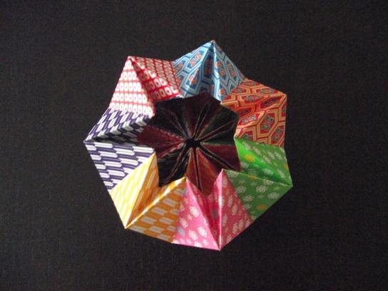 折り 折り紙 方 万華鏡
