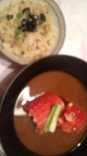 海老たまのお味噌汁〜_e0114246_247052.jpg