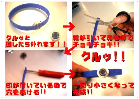 SAMURAI BLUE RING!!_e0157573_22451954.jpg