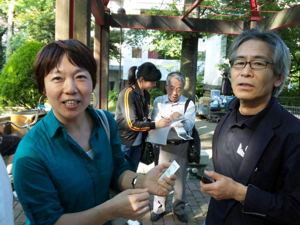 駒澤大学教授白水繁彦先生も参加...