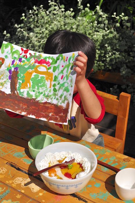 休日は息子とお絵描き_b0171098_1551193.jpg