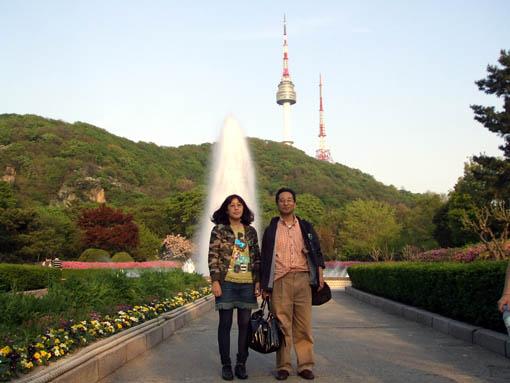 韓国旅行 その1 ソウル南山公園_f0019498_1855463.jpg
