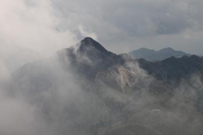 国見岳から藤内小屋へ_d0055236_9474297.jpg