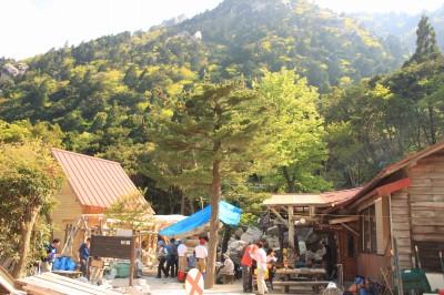 国見岳から藤内小屋へ_d0055236_9545327.jpg