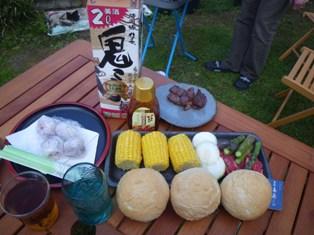 Weekend 今年初のBBQ at our garden♪♪_a0138438_2022129.jpg