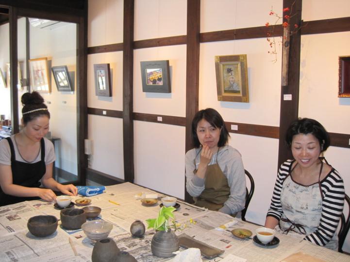 「一日陶芸教室」~一日目_f0233340_0124015.jpg