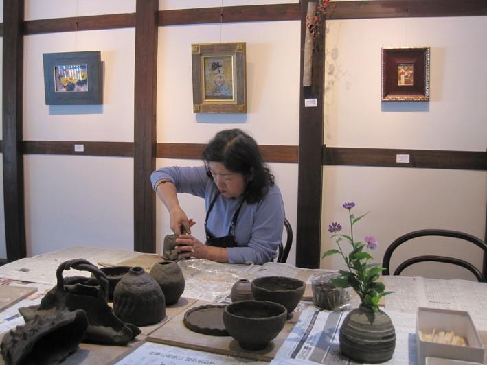 「一日陶芸教室」~二日目_f0233340_18413128.jpg