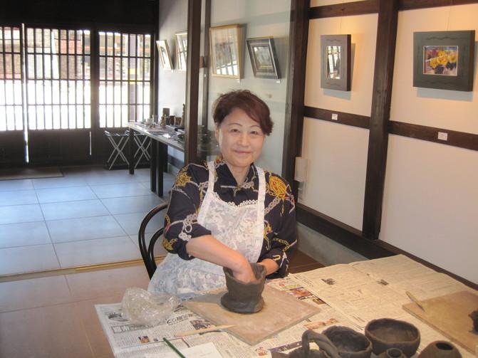 「一日陶芸教室」~二日目_f0233340_18435125.jpg