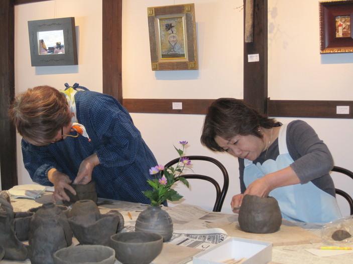 「一日陶芸教室」~二日目_f0233340_1852239.jpg